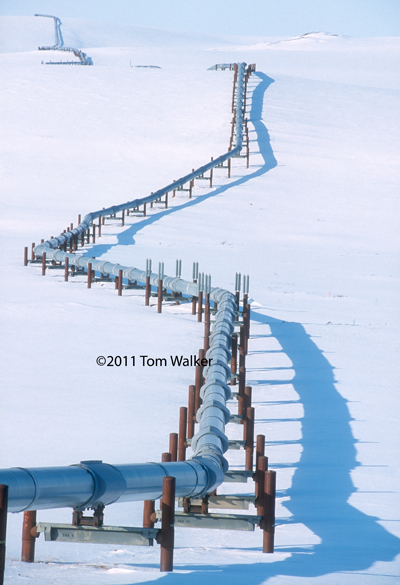 Trans-Alaska Pipeline, Winter